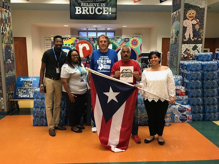 Bruce Elementary Sends Support to Puerto Rico Hurricane Victims